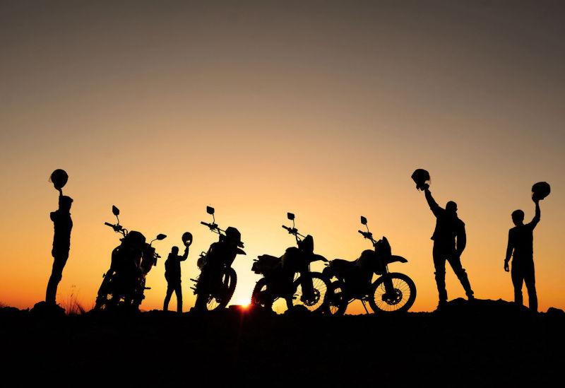 geführte Motorradreisen Deutschland