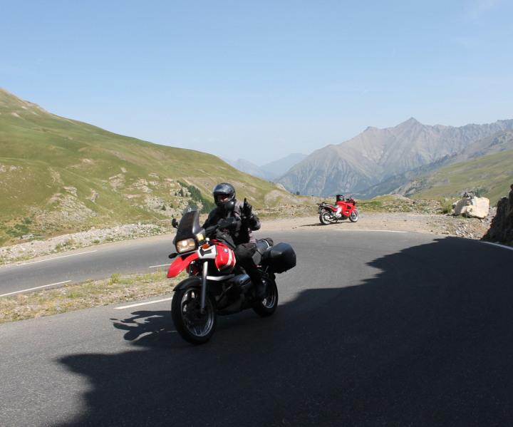 Motorradtour Österreich