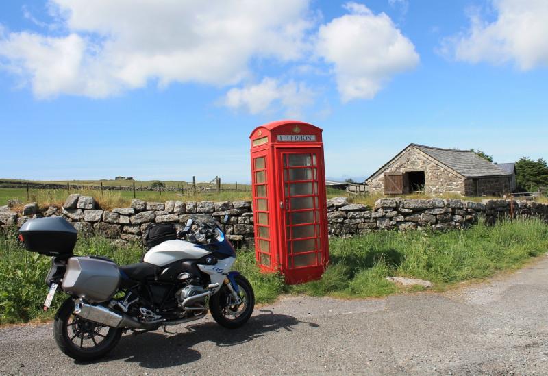 motorradreise England
