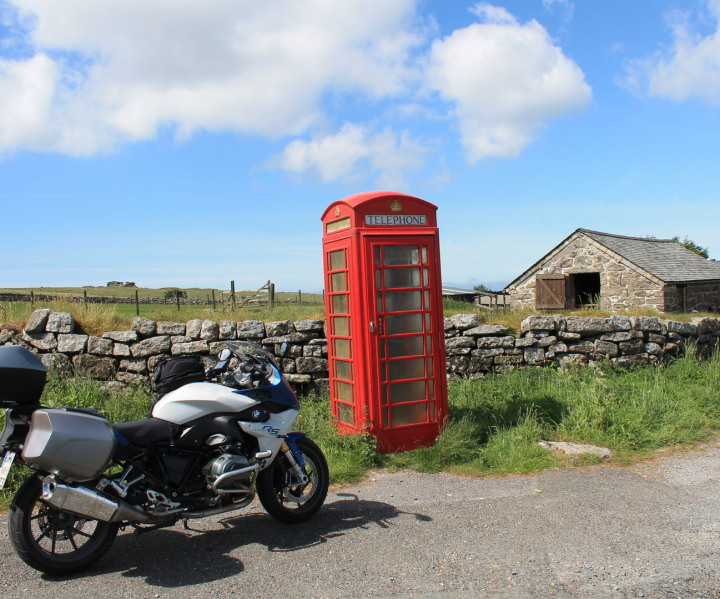 Motorradtour Südengland