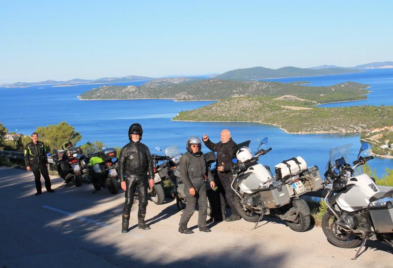 Björn's Motorradreisen Kroatien