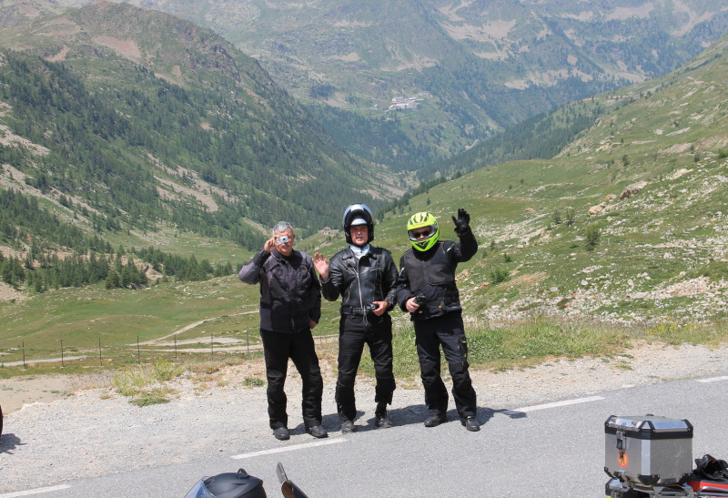 Björn's Motorradreisen Schweiz
